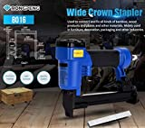 ANMSALES 8016 Rongpeng Pneumatic Air Stapler Gun for Upholstery and Furniture Nail Gun