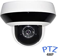 4MP Outdoor PTZ Dome IP Camera Pan/Tilt/ 4X Optical Zoom OEM DS-2DE2A404IW-DE3 2.8-12mm, 4-Megapixel IK10 IP66 Waterproof, H.265+ Audio Input Output, HS-PTVO2404-DI