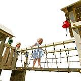 Demmelhuber Blue Rabbit 2.0 Anbaumodul Hängebrücke @Bridge Spielturm Verbindung zwischen Zwei...