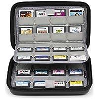 Sisma Estuche de juegos para 64 cartuchos Nintendo 3DS DS 2DS - Funda cartuchos juego - color negro