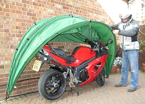 cheap motorcycle shed