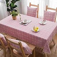 JJD ファッション現代のシンプルな幾何学的なテーブルクロスコーヒーテーブルクロス防塵ファブリックテーブルプレースマット テーブルクロス (Color : 009, サイズ : 110*110cm)