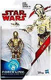 Hasbro – Star Wars : Les Derniers Jedi – Force Link – C-3PO – Figurine 9,5 cm