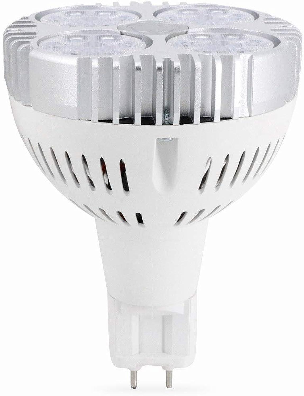 HHF LED Lampen, LED-Scheinwerferlampe, G12 PAR30 35W 3030SMD PAR30 Scheinwerferquivalentersatz 90W Halogen-Metalldampflampe Kaltwei Warmwei AC 90-260V (Gre   Kaltes Wei)