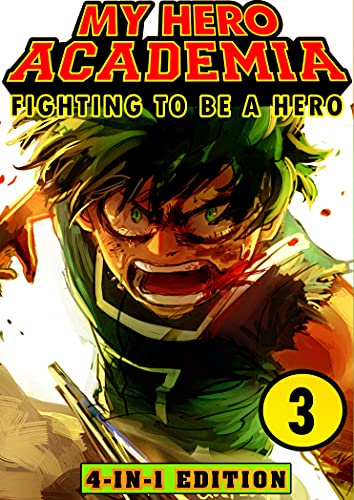 Fighting My Hero Academia 3: Book 3 Collection - Fantasy Adventures Shonen Manga Action My Hero Academia Graphic Novel (English Edition)