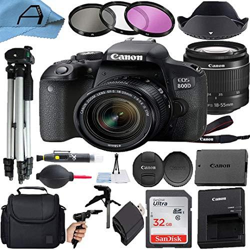Canon EOS 800D / Rebel T7i DSLR Camera 24.2MP...