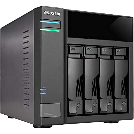ASUSTOR AS6004U|ASUSTOR NAS用拡張ユニット|4ベイキット|USB3.1 Gen-1|3年保証