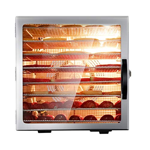Buy FANHUA 8 Layer Food Dryer Stainless Steel Food Fruit Vegetable Pet Meat Air Dryer Electric Dehyd...