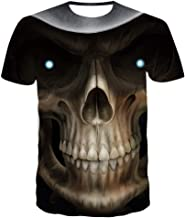Sunofbeach Unisex T-shirt met 3D-print, zomer, cas...
