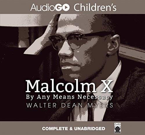 Malcolm X audiobook cover art