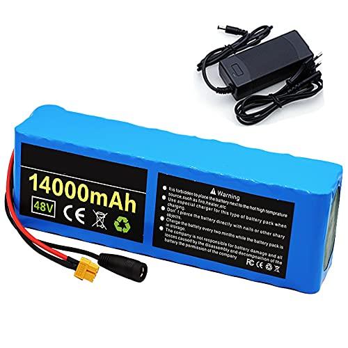 FJYDM E-Bike Batterie 48V 14Ah Batterie...