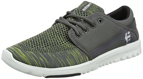 Etnies Herren Scout YB Sneaker, Grau (375-grey/green), 42 EU