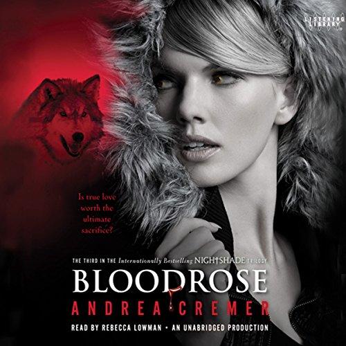 Bloodrose: A Nightshade Novel audiobook cover art