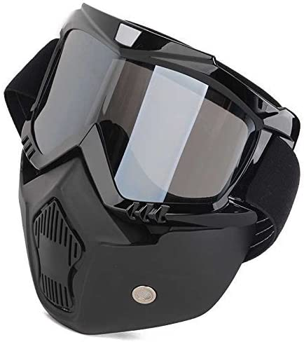 Goggles Attached with Shipping included Max 68% OFF Mask Detachable
