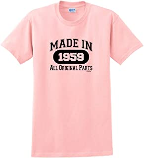 60th Birthday Gifts Made 1959 All Original Parts T-Shirt