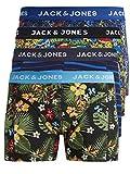 Pack de 4 calzoncillos tipo boxer Jack & Jones, tallas S, M, L, XL, XXL multicolor M