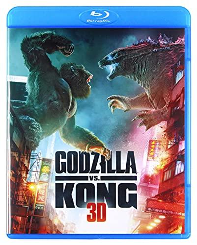 Godzilla vs. Kong [Blu-Ray]+[Blu-Ray 3D] [Region B] (English audio)