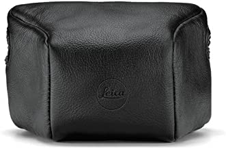LeicaLeather Pouch, Short, Black