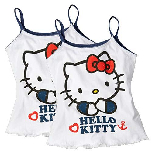 Disney Hello Kitty 1 Paar Unterhemd Top Mädchen 110/116