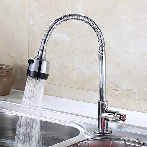Waschbecken Schüssel Becken Waschtisch Legierung einzigen kalten Küchenarmatur Universalrichtung rotierenden Schüssel Waschtisch Legierung Körper Kupfer Körper