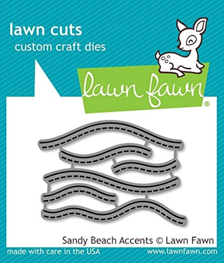 Lawn Fawn LF1980 Sandy Beach Accents Custom Craft Dies