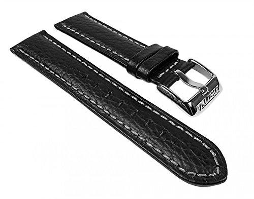 Festina Ersatzband Uhrenarmband Leder Band schwarz 20mm für F16537/2 F16537