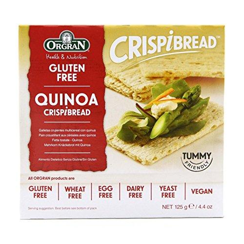 Orgran Crispbread Quinoa [Personal Care] 6er Pack(6 x 125 g)