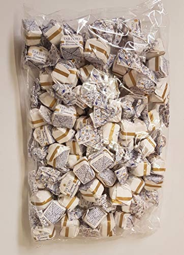 Tartufo dolce cremino | von Antica Torroneria Piemontese | Edle Trüffel-Praline aus Italien | Feine Trüffel mit Nougat und weißer Schokolade | Piemont-Haselnüsse | 1 kg Großpackung | Glutenfrei