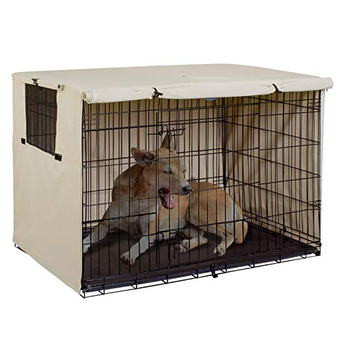 Explore Land Dog Crate Cover