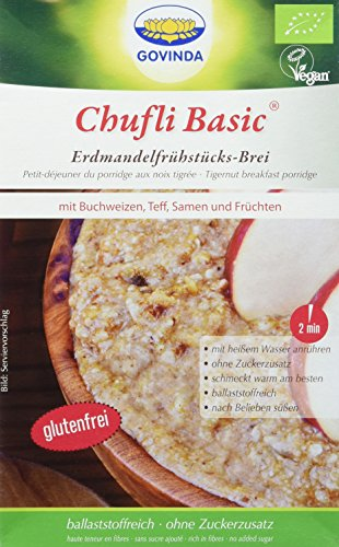 Chufli: Natursüßes Frühstück aus Erdmandeln