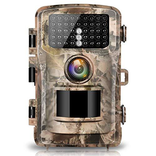 Campark Digital Trail Camera 12MP 1080P 120 degree PIR sensor Night vision, IP65 waterproof for Wildlife Home Security Pet Tier