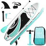 Triclicks Tabla de Surf de Remo, Hinchable, con Accesorios...