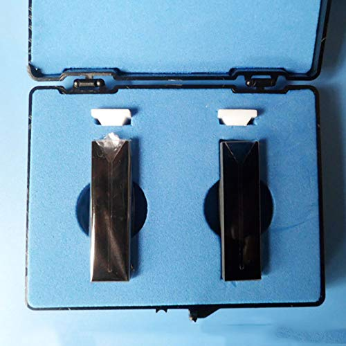 Clicke Schwarz Quarzglas-Küvette Für Spektralphotometer,Standard 10 Mm,Vor Licht Geschützt Schräger Mund Spektrometer-Zelle,200-2500Nm Wellenlängenbereich,C