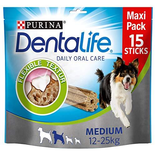 Purina DentaLife - Aperitivos de Cuidado Dental Diario para Perros pack de 5x345gr