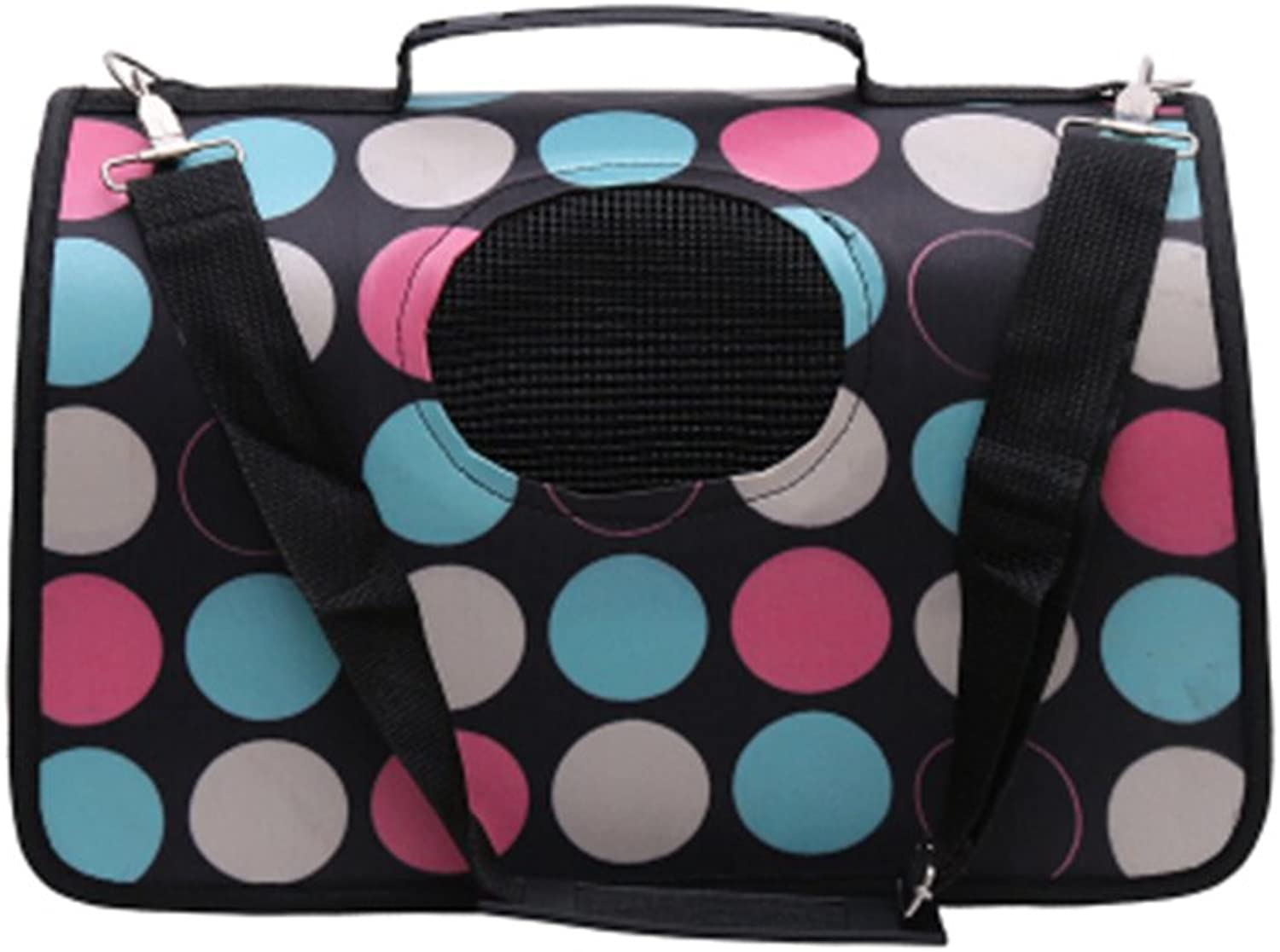 Pet Carrier Soft Sided Travel Bag for Small Dogs & Cats Airline Approved  41
