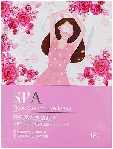 Steam Mask, Anti-Aging, Maskers Anti-Wrinkle Eye, Verminder donkere kringen (Rose) lsmaa
