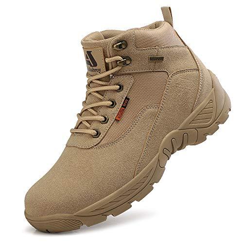Niber Stiefel Herren Taktisch Kampfstiefel Outdoor Militär Security Schuhe Männer Alles Gelände Stiefel zum Wandern Jagen Arbeiten Armee Airsoft Combat