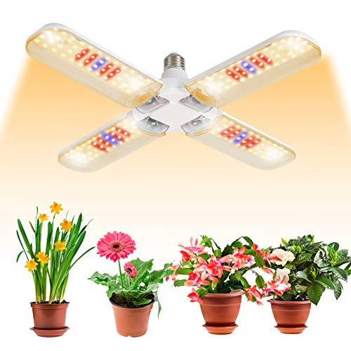 BOSYTRO® LED Pflanzenlampe E27 150W Sonnenähnliche Vollspektrum Pflanzenlampen Pflanzenleuchte LED Grow Lampe die Glühbirne für Garten Gewächshaus Zimmerpflanzen Hydroponik, Blüte, Blumen und Gemüse