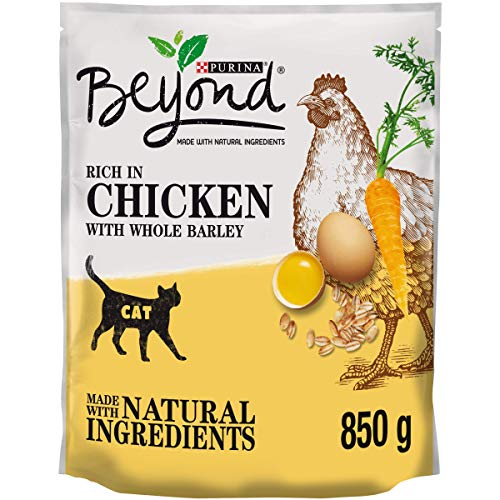 Beyond Simply Dry Cat Food Rich in Chicken 850g (Pack...