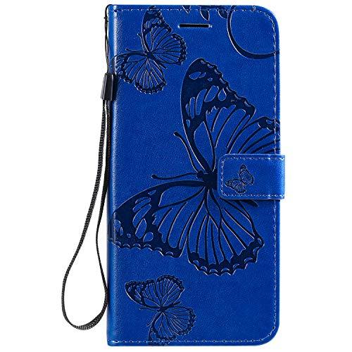 Jeewi Hülle für Oppo F11Pro Hülle Handyhülle [Standfunktion] [Kartenfach] [Magnetverschluss] Tasche Etui Schutzhülle lederhülle klapphülle für Oppo F11 Pro - JEKT042093 Blau