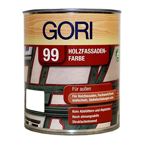 Gori 99 0,75L Holzfassadenfarbe hellocker