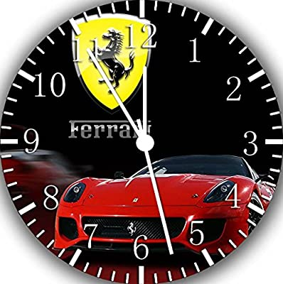 Ferrari Super Car Frameless Borderless Wall Clock W231 Nice For Gift or Room Wall Decor