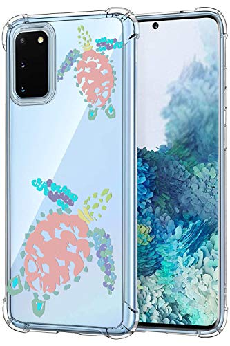 Oihxse Funda Compatible con Samsung Galaxy J5 Prime Ultra Delgada Ligera Transparente Silicona TPU Gel Suave Carcasa Elegante Patrón Anti-Rasguño Protector Caso-Tortuga A4