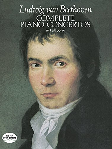 Complete Piano Concertos in Full Score (Dover Music Scores)