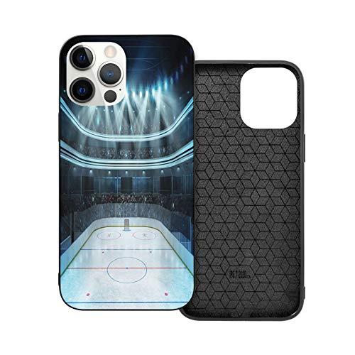 Compatible con iPhone 12 / iPhone 12 Pro Case, Hockey Day of The Finals Performance suave antideslizante a prueba de golpes funda protectora para teléfono iPhone