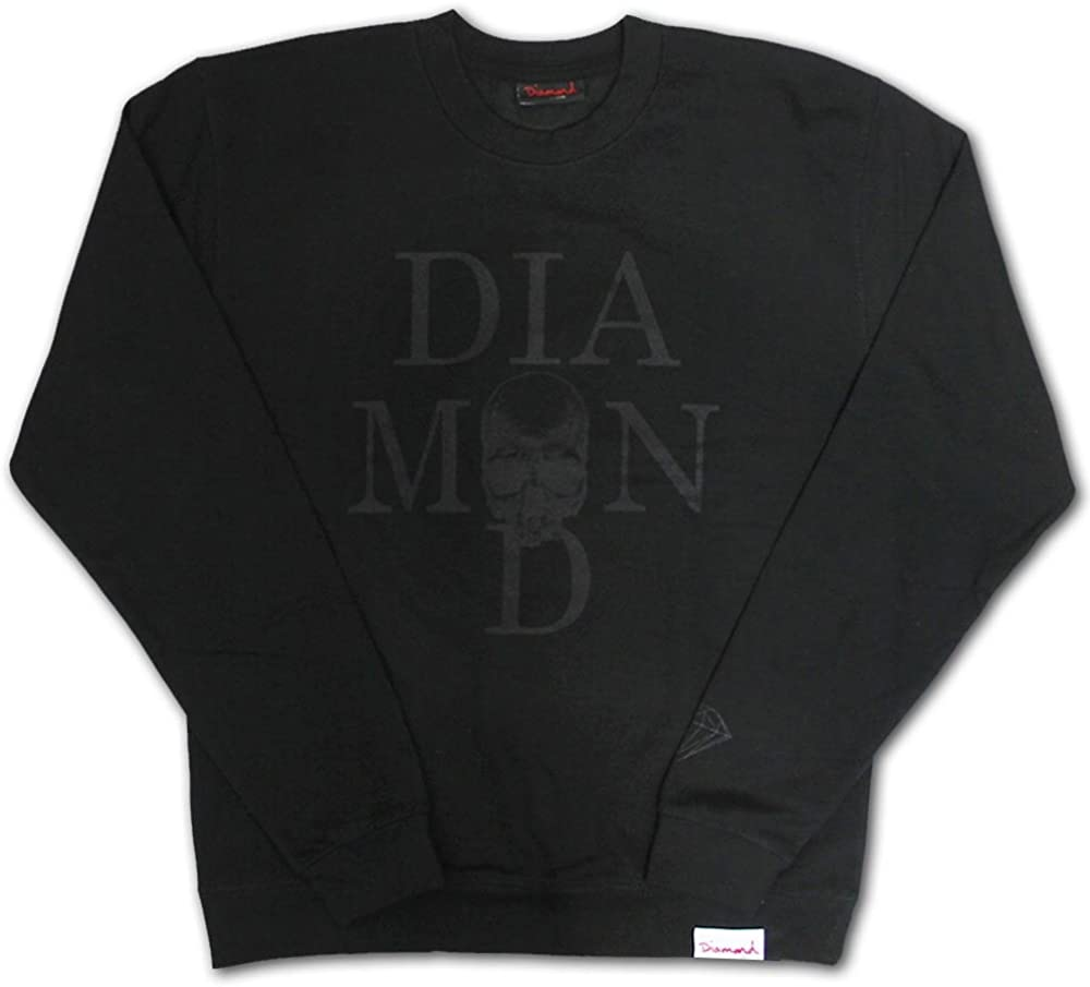 Diamond Supply Co Skull Sweatshirt Black