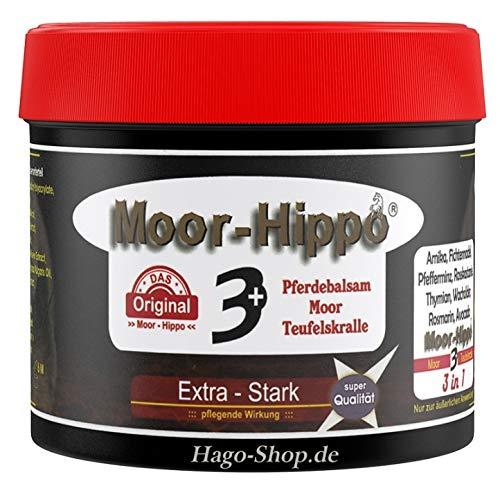 Moor - Hippo 3 Pferdebalsam mit Moor und Teufelskralle 500 m