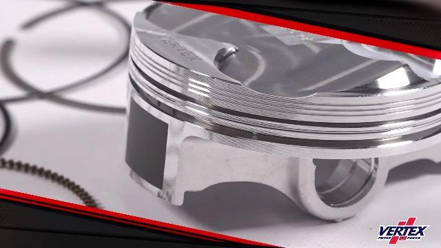 BBC Chevy 7.4L 454 Silvolite Hypereutectic 30cc Dome Pistons+Cast Rings compatible with 4.310 Bore @ +.060