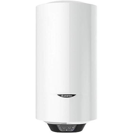Ariston 3700509 Termo Eléctrico, 1800 W, 50 V, Slim 50 L, Fabricado para ser instalado en España