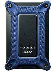 アイ・オー・データ ポータブルSSD 500GB USBタイプC 耐衝撃 PS4 Mac 名刺サイズ USB3.1(Gen2) バスパワー 日本メーカー SSPG-USC500NB